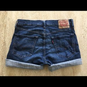 Levi's 559 Dark Jean Shorts💙